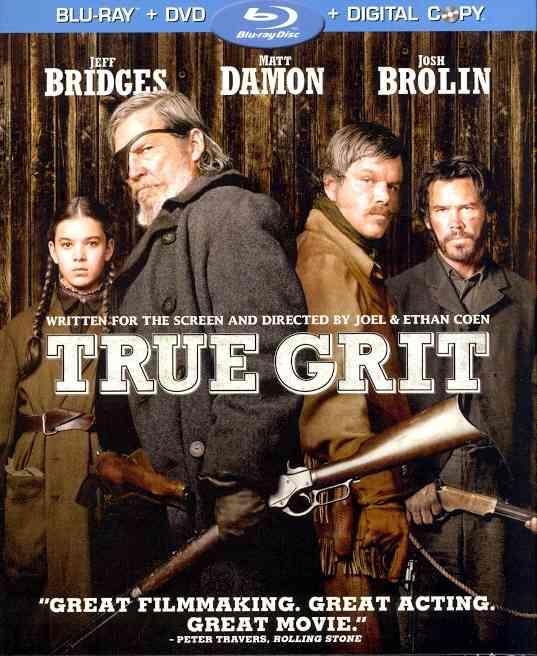 TRUE GRIT BY BRIDGES,JEFF (Blu-Ray)